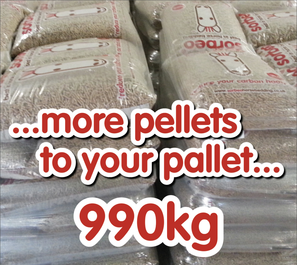 more pellets to your pallet
